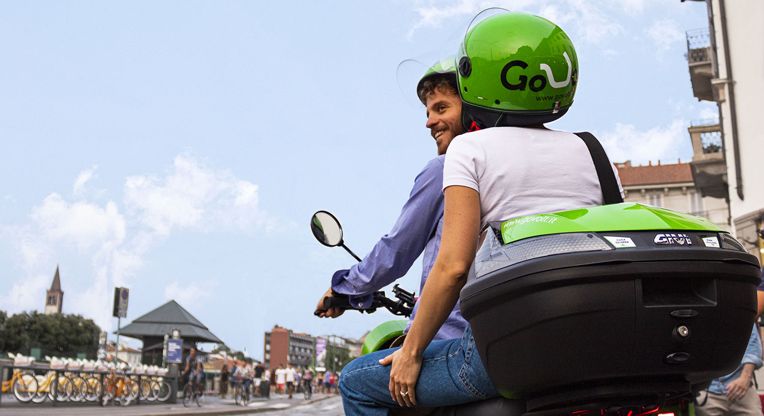 GoVolt | Your electric sharing on two wheels